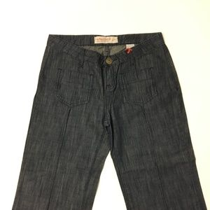 Buffalo High Rise Dark Wash Flare Sz 25 Jeans